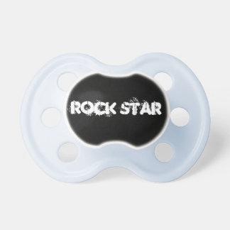 Estrella del rock chupete