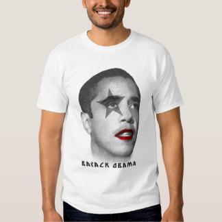 Estrella del rock de Barack Obama Remera