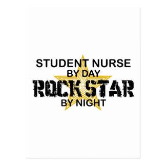 Estrella del rock de la enfermera de estudiante postal
