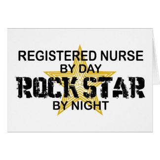 Estrella del rock de la enfermera registradoa por  tarjeta