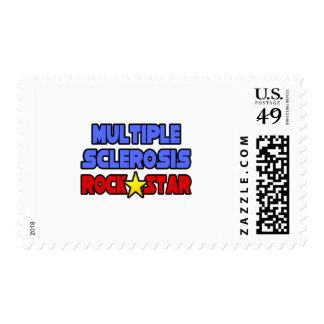 Estrella del rock de la esclerosis múltiple sellos
