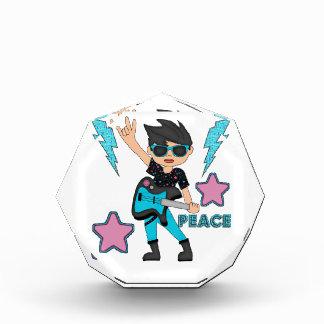 Estrella del rock de la paz