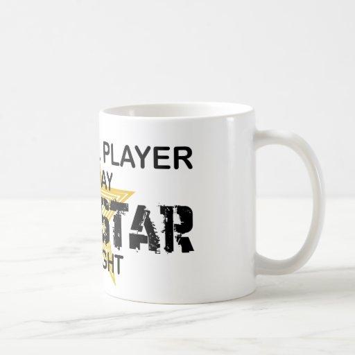 Estrella del rock del jugador del cencerro por noc tazas