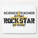 Estrella del rock del profesor de ciencias por noc alfombrillas de ratones