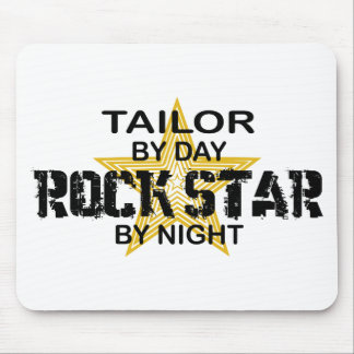 Estrella del rock del sastre por noche alfombrillas de ratón