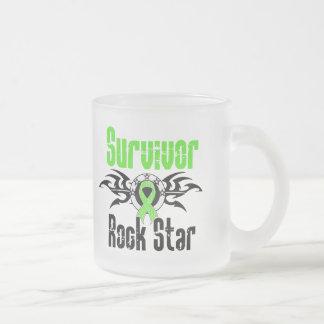 Estrella del rock del superviviente - supervivient tazas