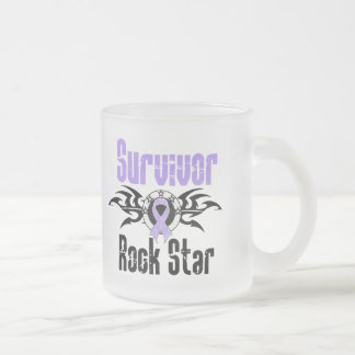 Estrella del rock del superviviente - supervivient taza