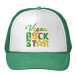 Estrella del rock del vegano gorra