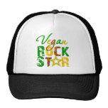 Estrella del rock del vegano gorro de camionero