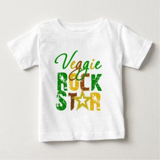 Estrella del rock del Veggie Playera