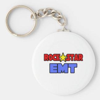 Estrella del rock EMT Llavero Personalizado