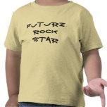Estrella del rock futura camiseta