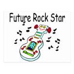 Estrella del rock futura postal