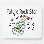 Estrella del rock futura tapetes de raton