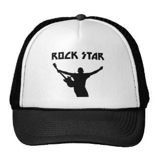 Estrella del rock gorras