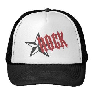 Estrella del rock gorra