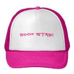 ¡Estrella del rock! Gorro