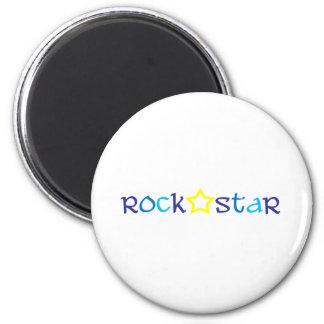 Estrella del rock imán de nevera