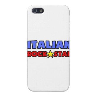 Estrella del rock italiana iPhone 5 carcasa