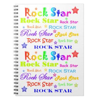 Estrella del rock cuaderno