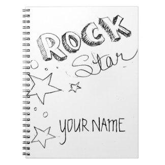 Estrella del rock cuadernos