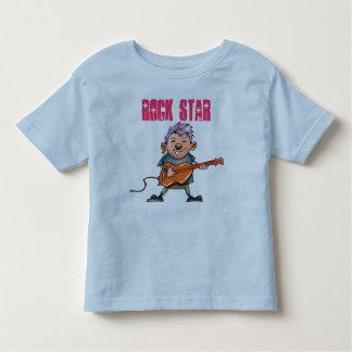 Estrella del rock linda playera