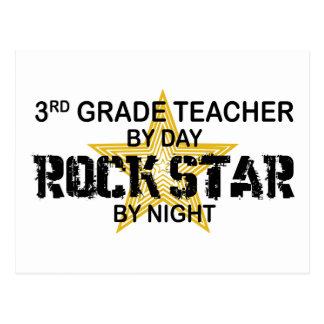 Estrella del rock por la noche - 3ro grado tarjetas postales
