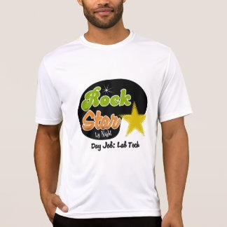 Estrella del rock por la noche - tecnología del camiseta