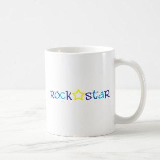 Estrella del rock taza de café
