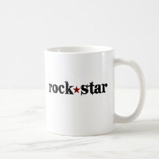 Estrella del rock taza clásica