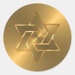 Estrella del sello del sobre de David