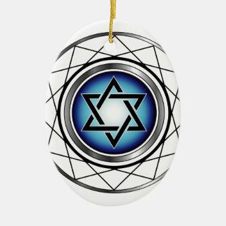 Estrella del símbolo religioso judío de David