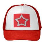 Estrella del sombrero gorras de camionero