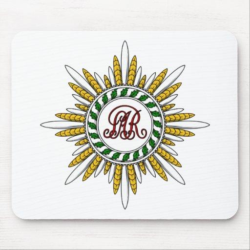 Estrella del St. Stanislaus (Polonia) Tapetes De Ratones