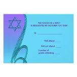 Estrella del trullo de la púrpura de las tarjetas  invitación