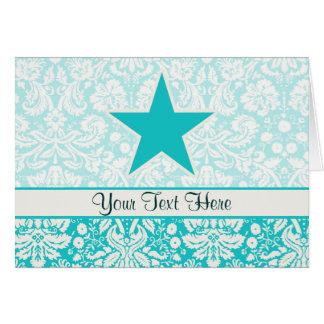 Estrella del trullo tarjeta de felicitación