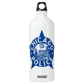 ESTRELLA del VINTAGE de la policía de Chicago