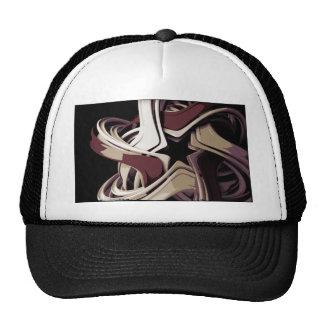 Estrella derretida color gorras de camionero