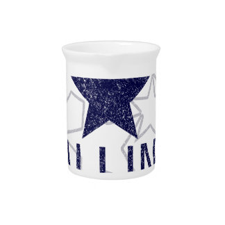 estrella el caer de la captura jarras para bebida