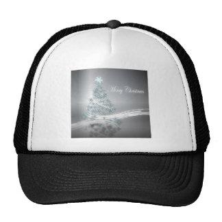 Estrella elegante del árbol de navidad y de la gorras de camionero