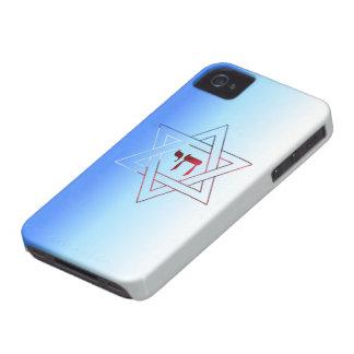 Estrella elegante estupenda caso del iPhone 4 de iPhone 4 Case-Mate Cárcasa