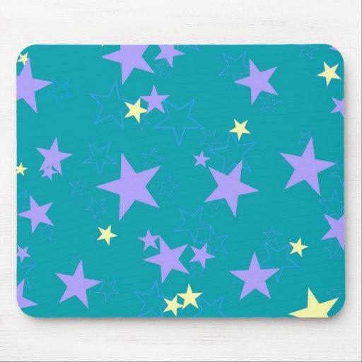 Estrella en colores pastel Mousepad