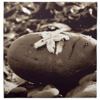 Estrella en la playa servilletas imprimidas