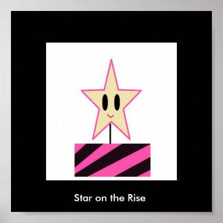 Estrella en la subida póster