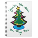Estrella en mi árbol libro de apuntes