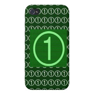 Estrella estupenda NumberOne iPhone 4 Cárcasas