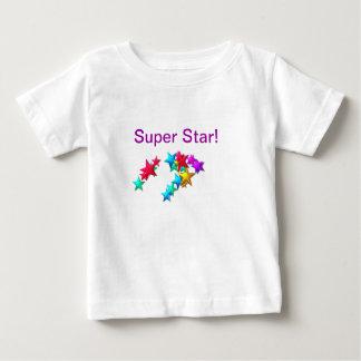 Estrella estupenda para la camiseta infantil del poleras