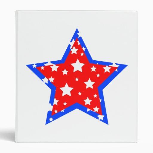 Estrella estupenda patriótica - carpeta multiusos