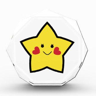 Estrella feliz