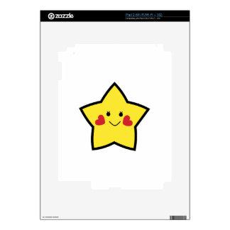 Estrella feliz calcomanías para iPad 2